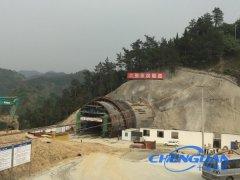 中铁十一局汉十高铁张家院隧道视频监控系统